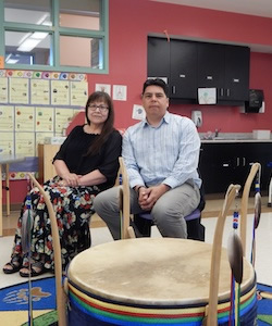 A Discussion with Craig Abotassaway, Social Worker at Native Alcohol and Drug Abuse Program, and Gloria Oshkabewisens-McGregor, Teacher, Shawanosowe School, Whitefish River First Nation, Ontario, Canada