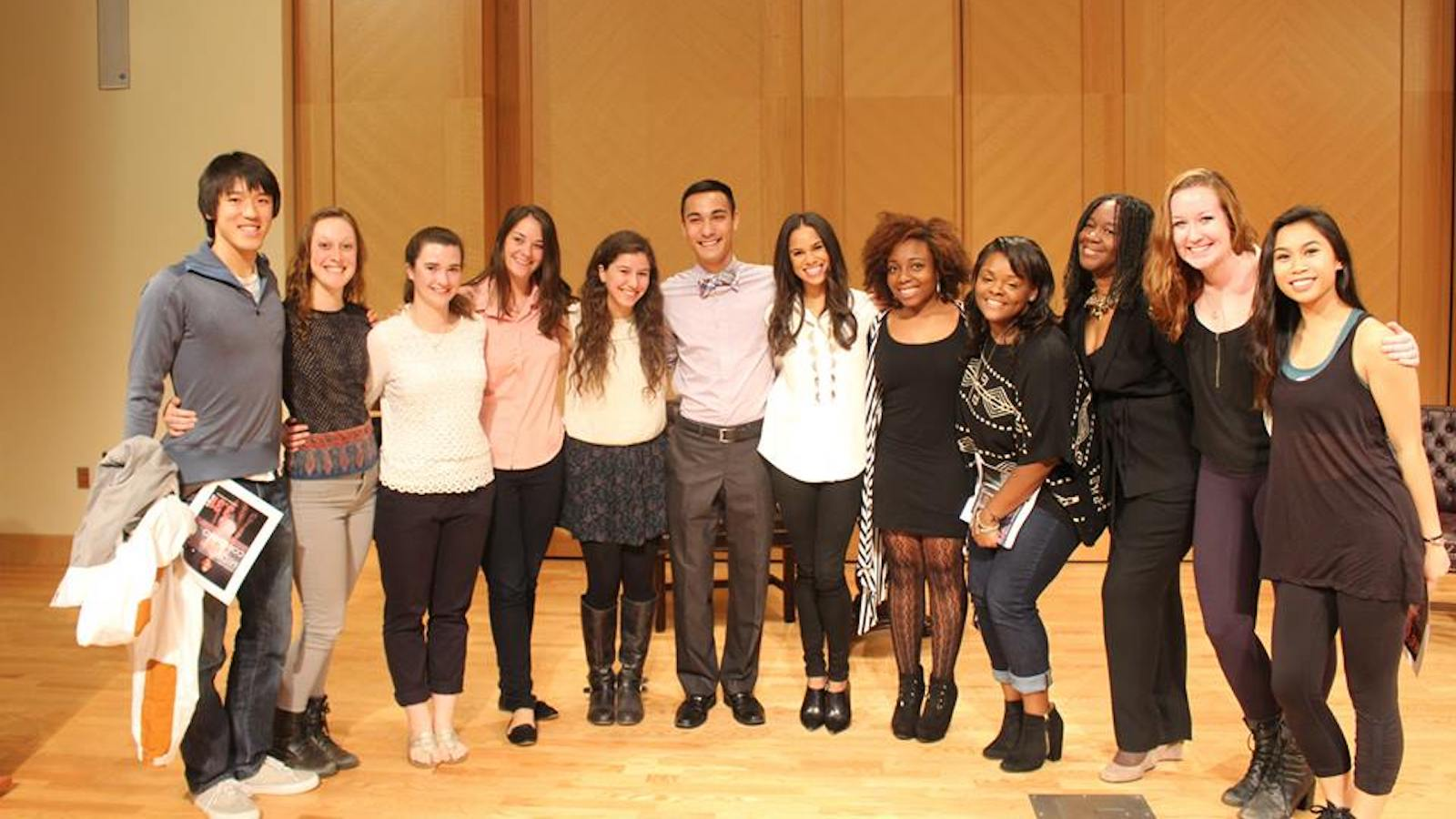 Misty Copeland and students from the Black Movements Dance Theatre