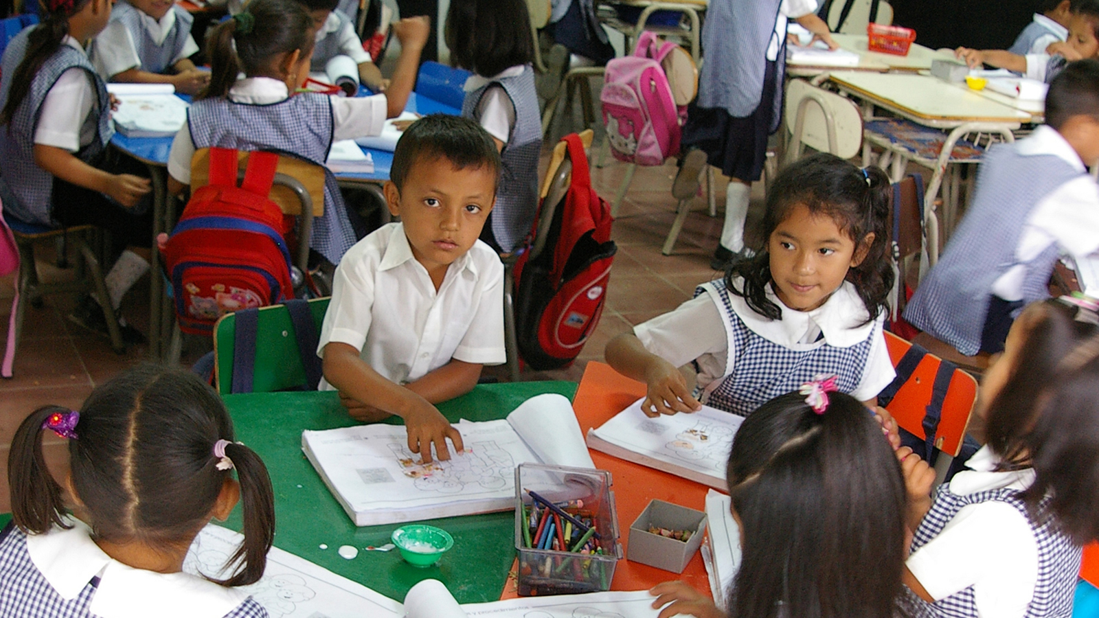 Elementary School Children in El Salvador