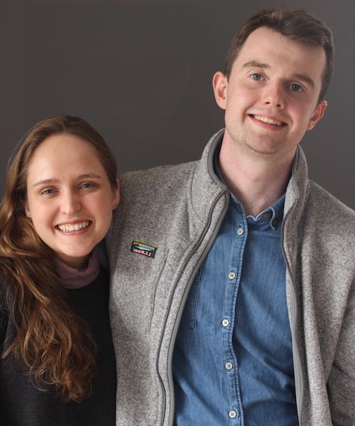 Emma Coley and Matthew Igoe