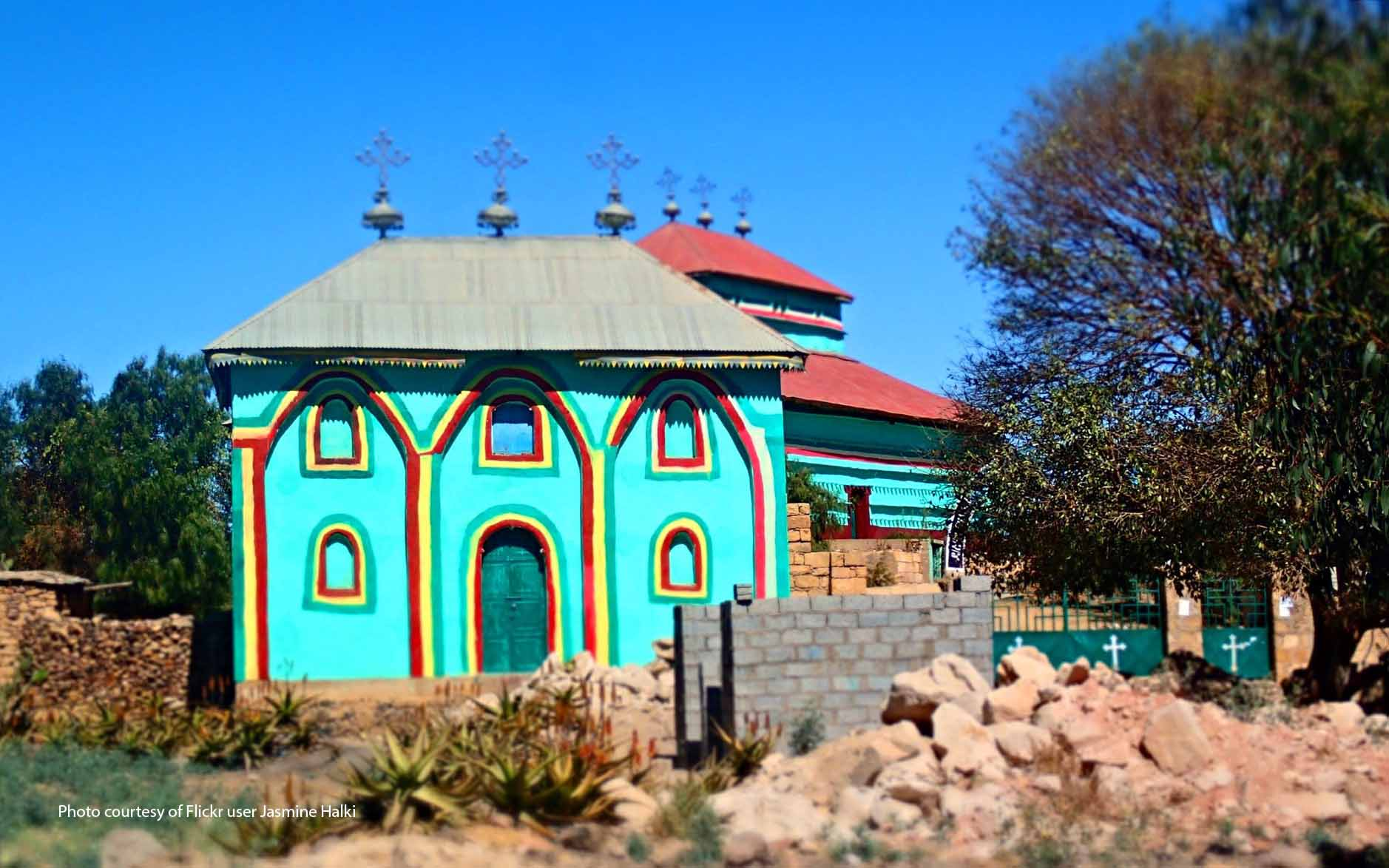 Ethiopian Orthodox monastery in Tigray
