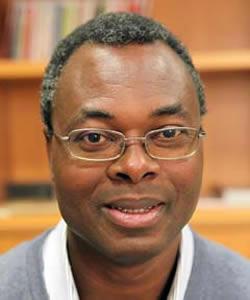 Eugene Goussikindey, S.J. headshot