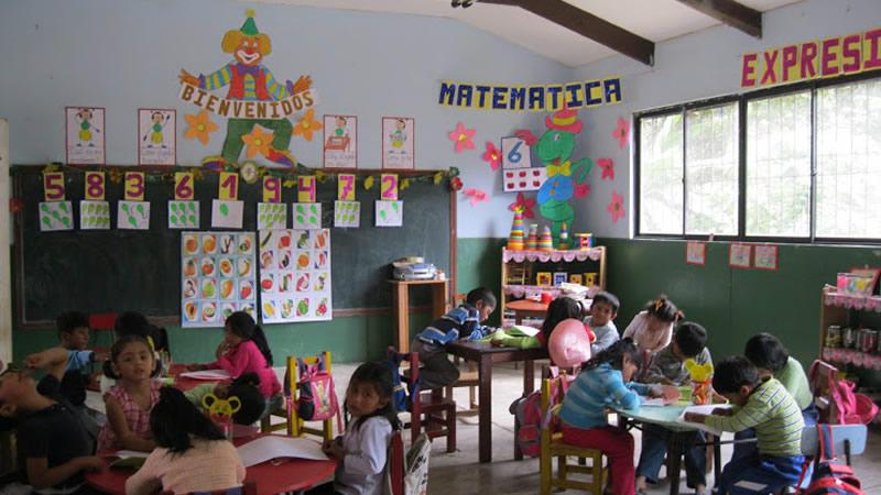 Fe y Alegria Bolivia Classroom