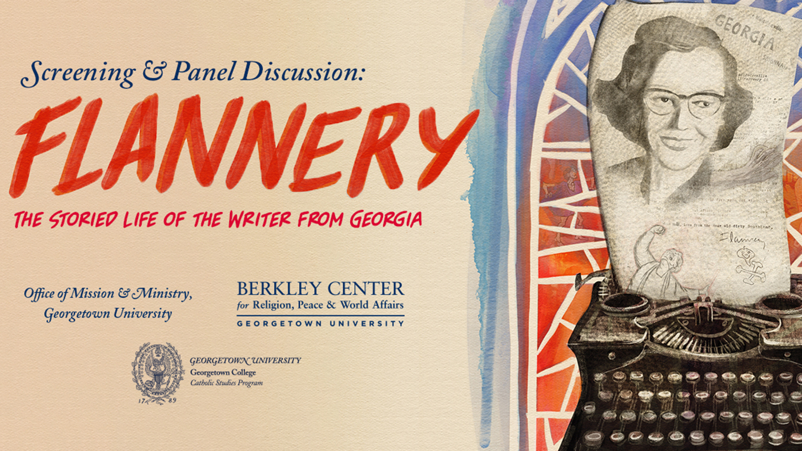 Flannery Event Poster