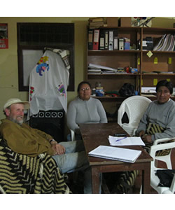 A Discussion with Flora Cosme Aruquipa, Bartholomé Margalef, and Arguedas Ulo Churata, Educators at the Yatiqañ Uta, Trinidad Pampa, Bolivia