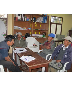 A Discussion with Florencio Colquehuanca, Daniel Luque Kea, and Adelio Patty, Parents Involved with the Yatiqañ Uta, Trinidad Pampa, Bolivia