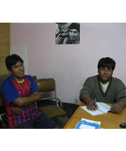 A Discussion with the Franz Tamayo School Board, Fe y Alegría, Trinidad Pampa, Bolivia