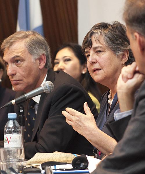 Katherine Marshall Speaking on a G20 Interfaith Forum Panel