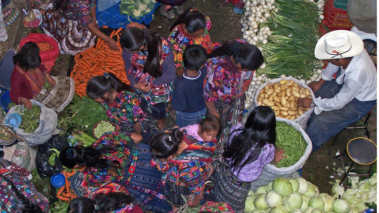 Guatemala Vegetable Market
