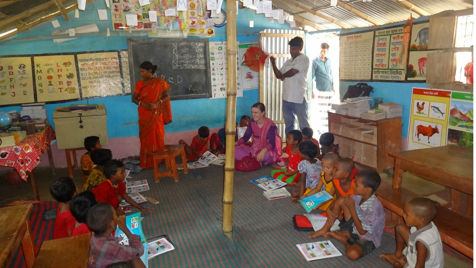 Kuchai Bari Educational Center Classroom in India