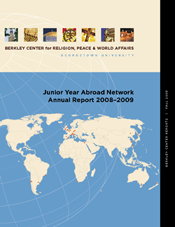 Junior Year Abroad Network Annual Report 2008-2009