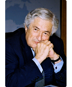 James D. Wolfensohn headshot