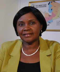 A Discussion with Karen Sichinga, Executive Director, Churches Health Association of Zambia