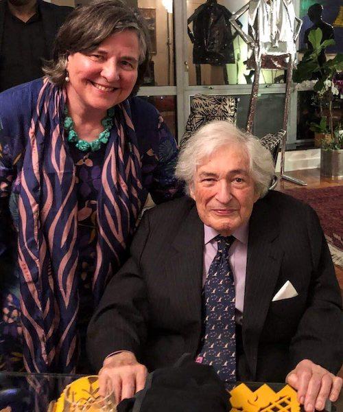 Katherine Marshall and James Wolfensohn