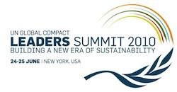 UN Global Compact Leaders Summit 2010