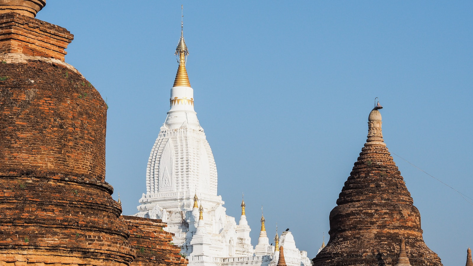 Lemyethna Temple in Myanmar