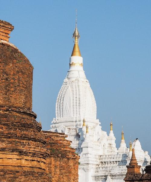 Lemyethna Temple in Myanmar