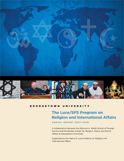 Luce/SFS Program Annual Report 2007-2008