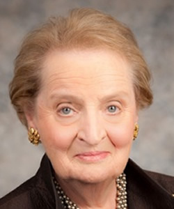 Madeleine Albright headshot
