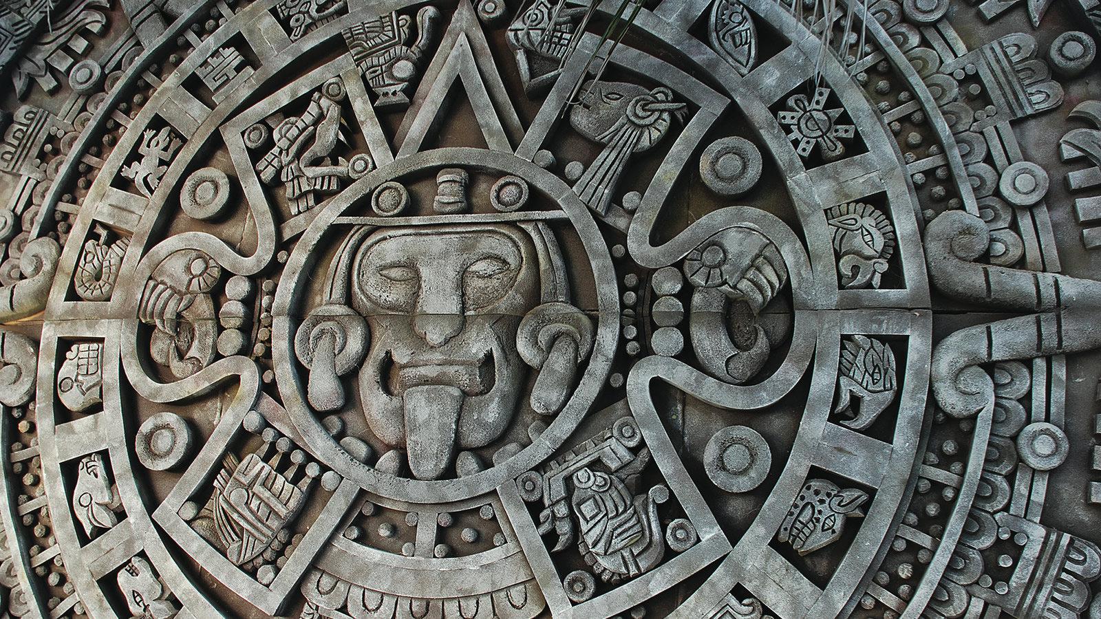 Stone Carving Mayan-Style in Mexico