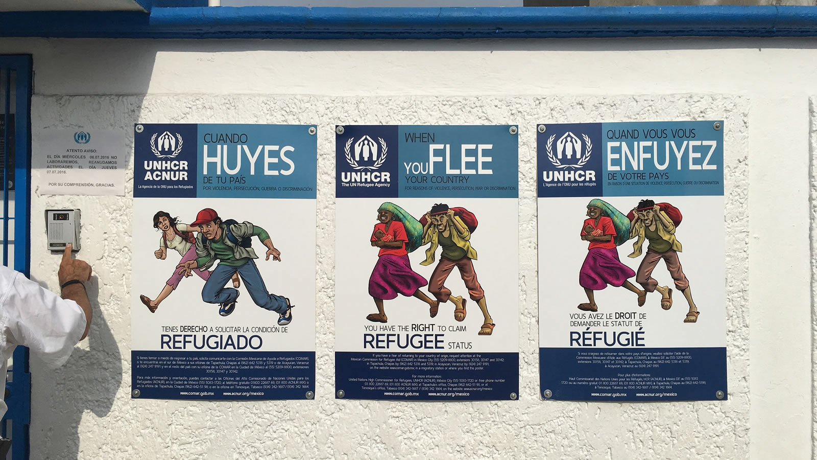 UNHCR Posters About the Right to Refugee Status