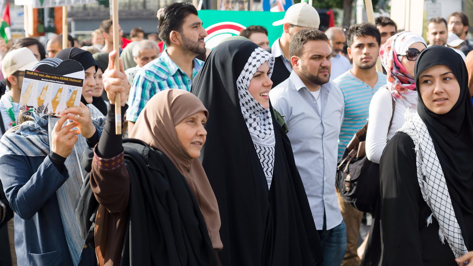 Muslim Women Protestors