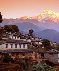 Nepalvillagemountain