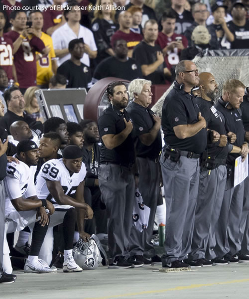 National Anthem Protests and American Sports as Civil Religion