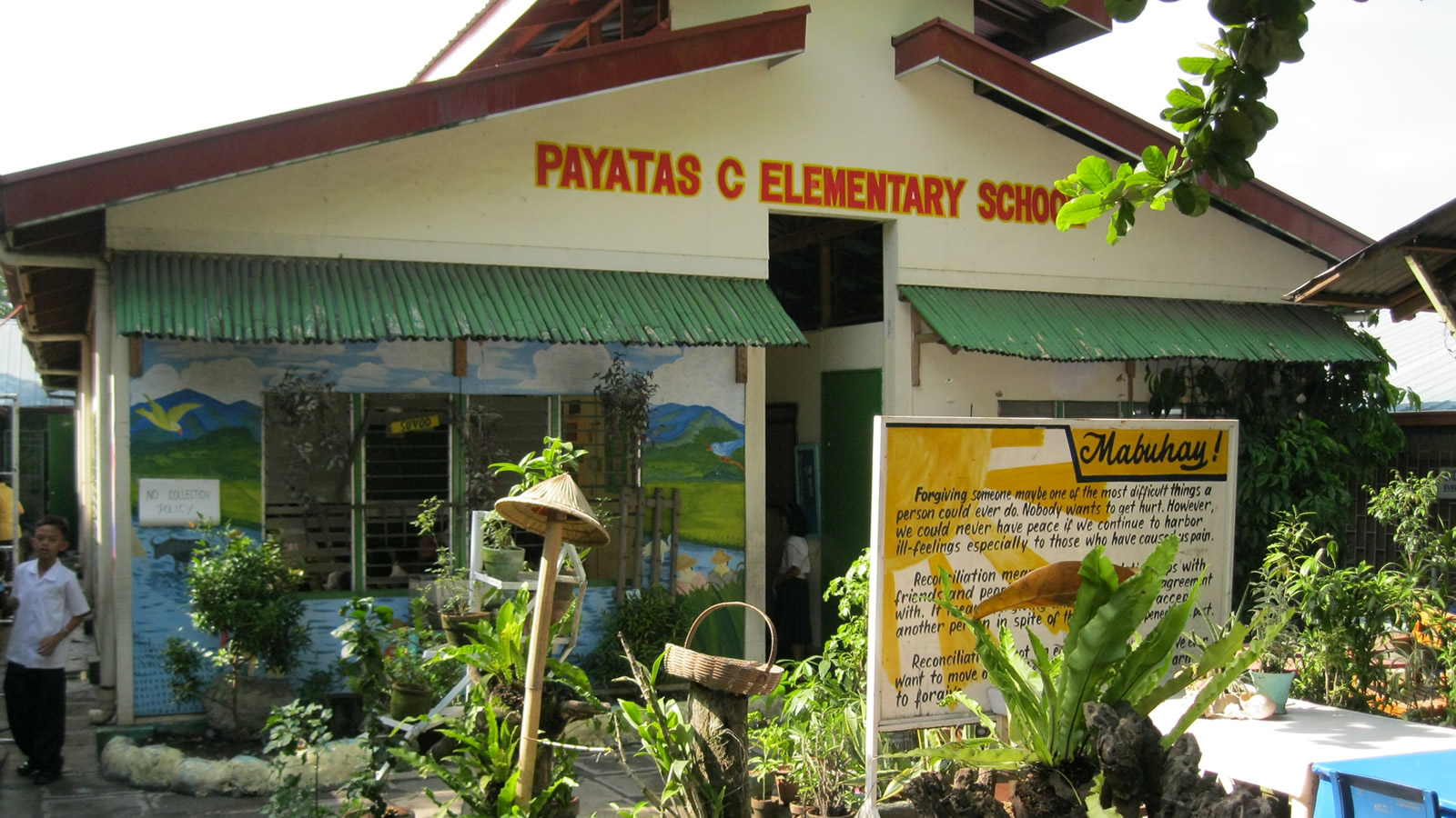 Payatas Elementary School in the Philippines