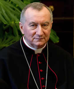 Vatican Secretary of State Cardinal Pietro Parolin on His Hopes for Donald Trump's Presidency