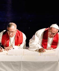 Popefrancisbishopyounansigning