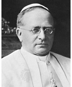 Pius XI on Exalting the State Above God