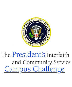 Fourth Annual President's Interfaith and Community Service Campus Challenge Gathering