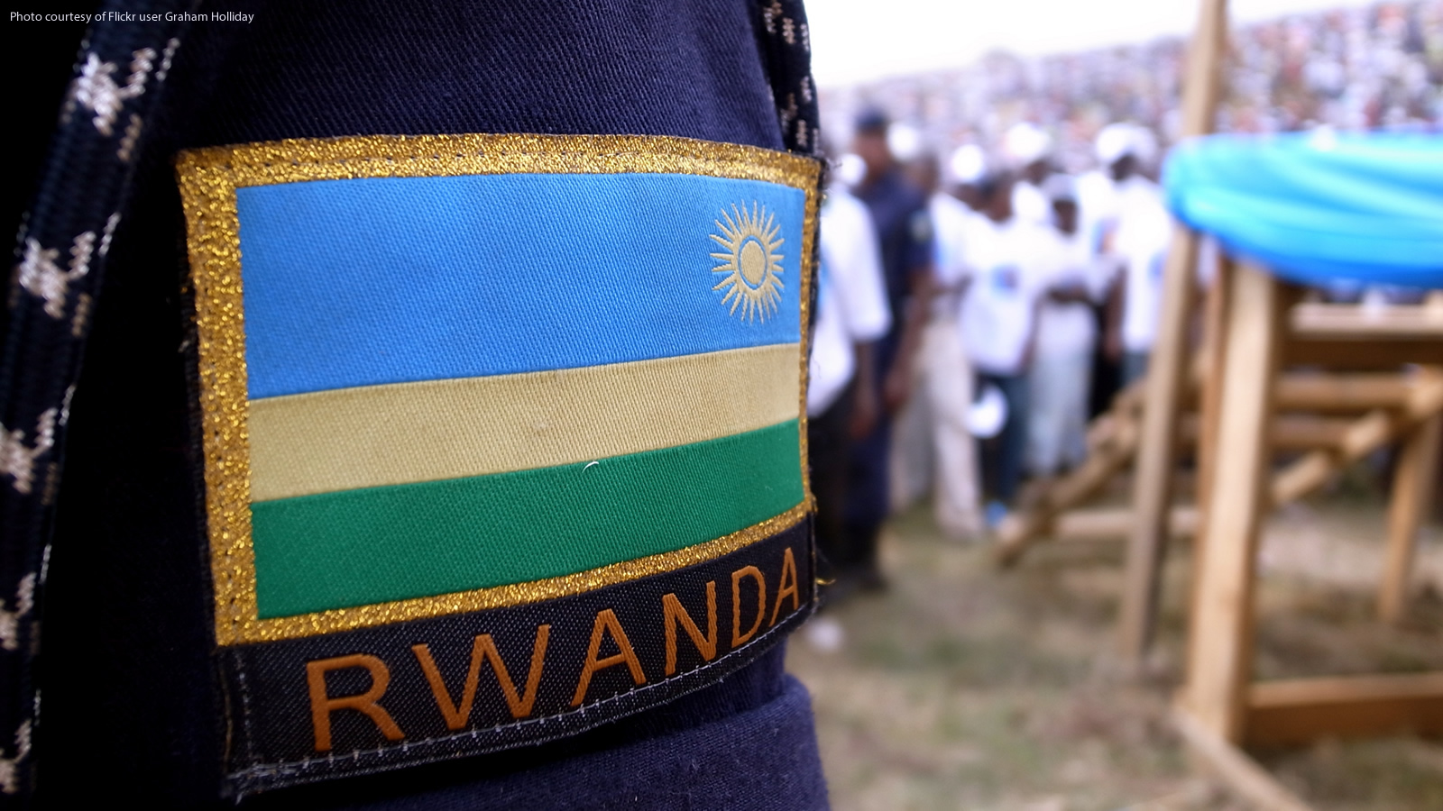 Rwanda Soldier's Uniform Patch