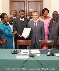 Santegidiocentralafricanrepublicrepublicanpact2013
