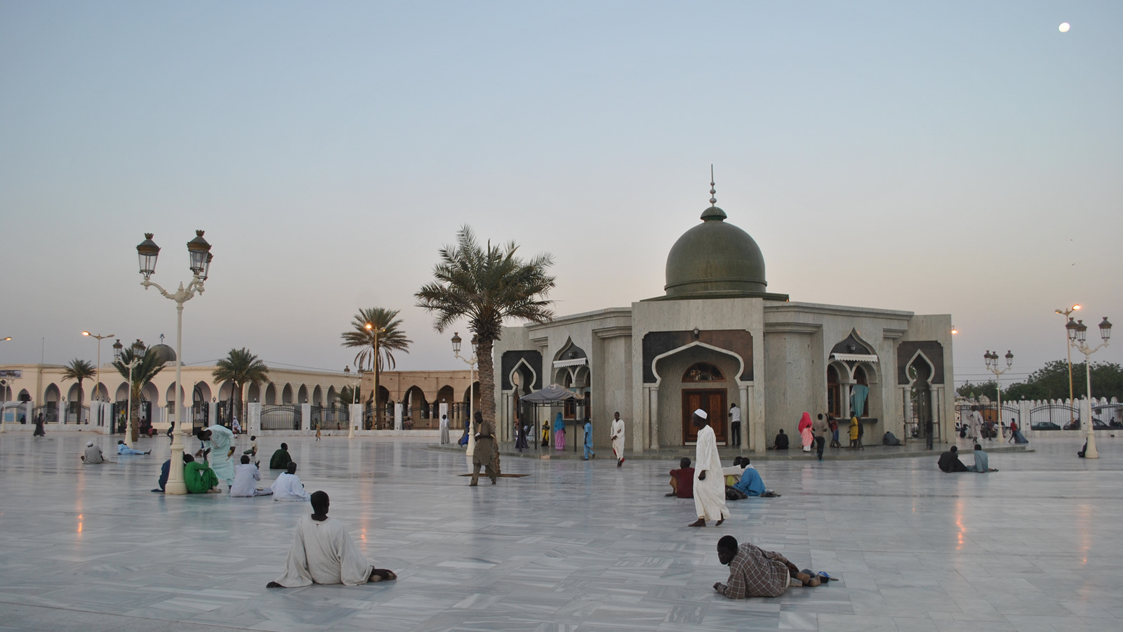 Grand Mosque of Touba in Senegal
