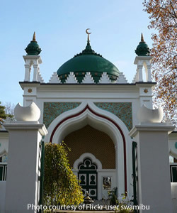 Shah Jahan Mosque in the United Kingdom