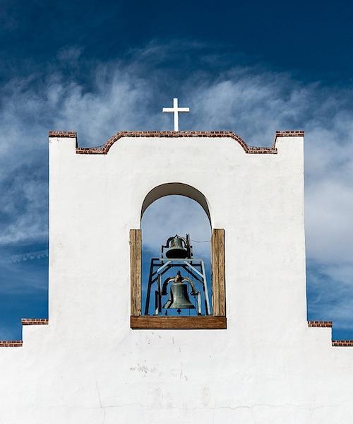 Socorro Mission in New Mexico.