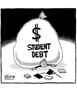 In the Red: Debt by Degree for American College Students