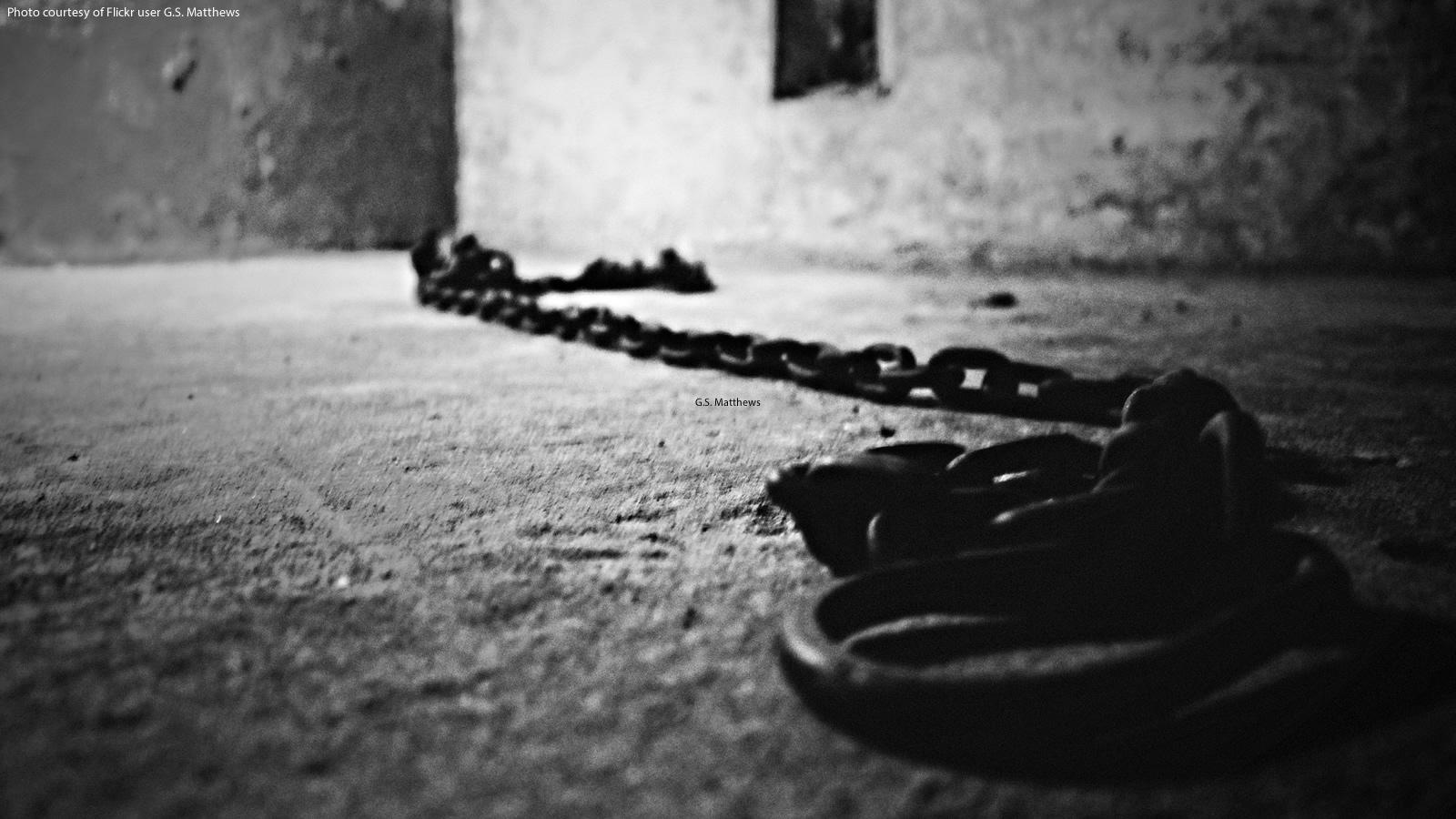 Former Slave Market Shackles in Zanzibar, Tanzania