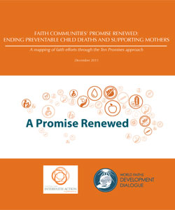 Faith Communities' Promise Renewed: Ending Preventable Child Deaths and Supporting Mothers