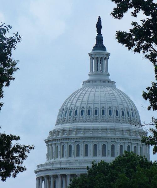 U.S. Capitol Building in Washington, DC