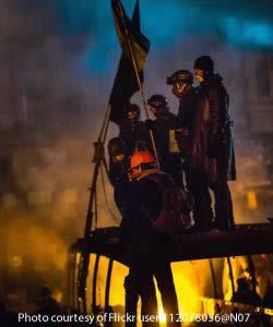 Ukrainekievprotesterssmoke