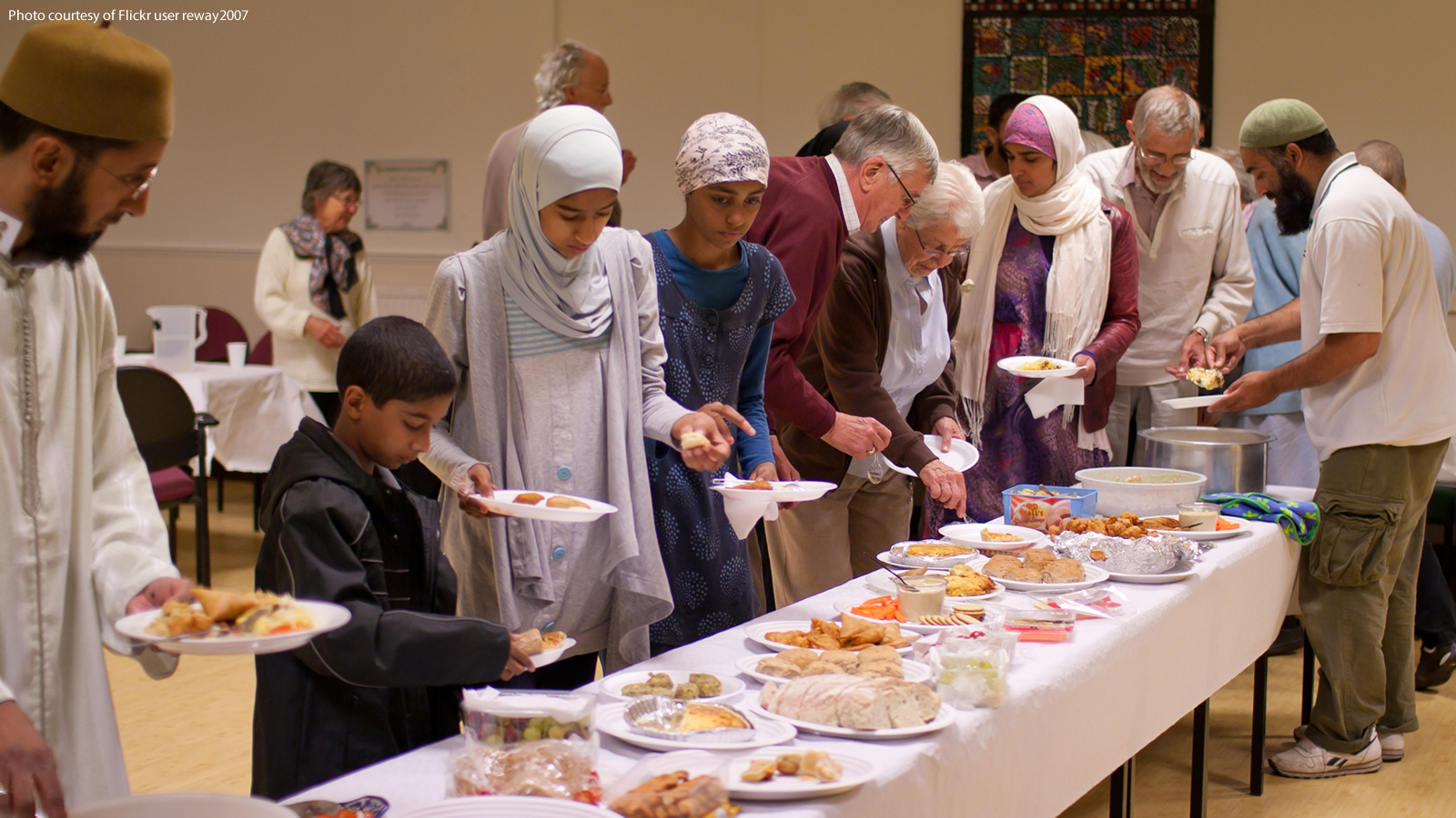 Interfaith Iftar in the United Kingdom