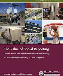 The Value of Social Reporting