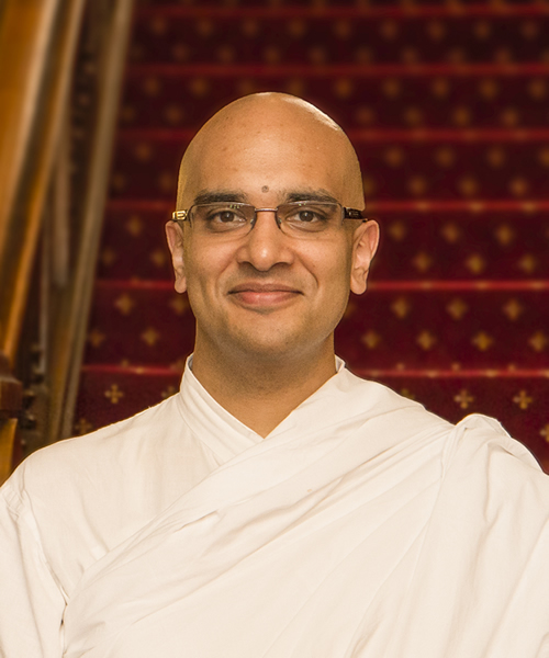 A Conversation with Brahmachari Vrajvihari Sharan, Director for Hindu Life, Georgetown University, Washington, D.C.