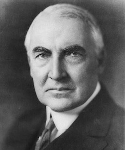 Warren G. Harding on National Responsibility in Thanksgiving Day Proclamation