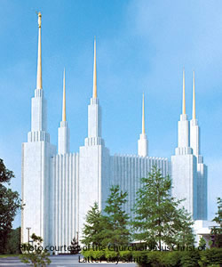 Washington, D.C. Mormon Temple