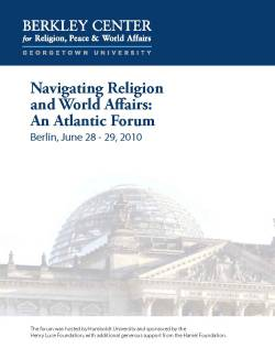 Navigating Religion and World Affairs: An Atlantic Forum