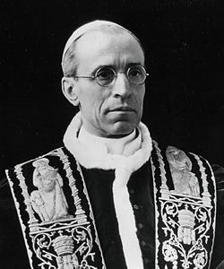 Pope Pius XII  headshot